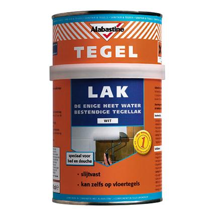 Alabastine tegellak wit 750ml